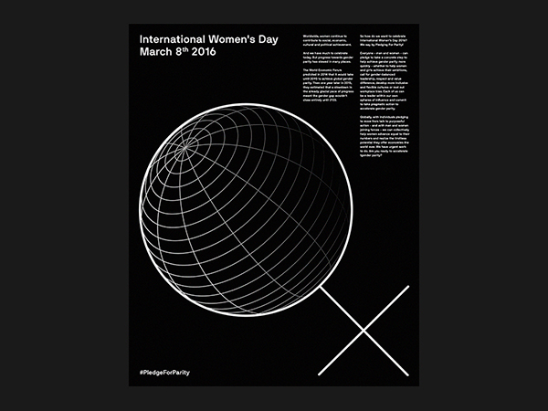 International Women Day Poster 2016