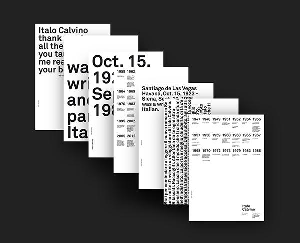 —ITALO CALVINO / POSTERS