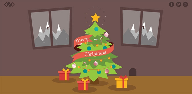 25 Cool CSS & HTML5 Christmas Animation Effects