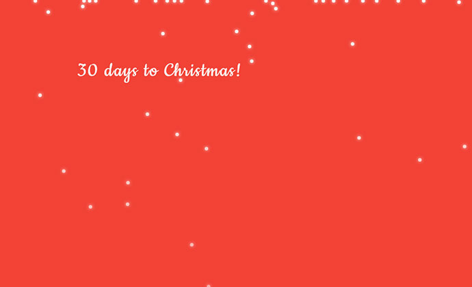 #codevember -22 Countdown to Christmas!