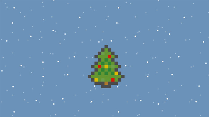 CSS animated Xmas Tree