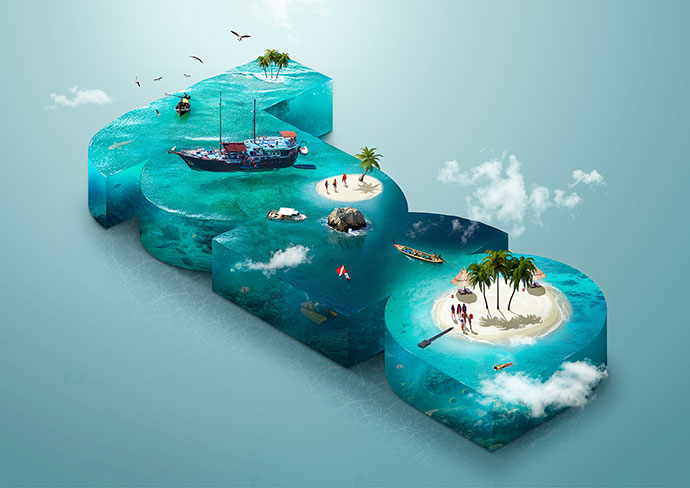 LUMA Pictures Isometric Composition