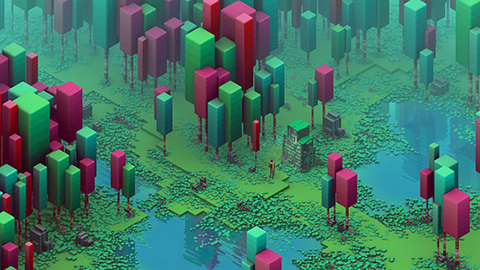 Isometric Swamp