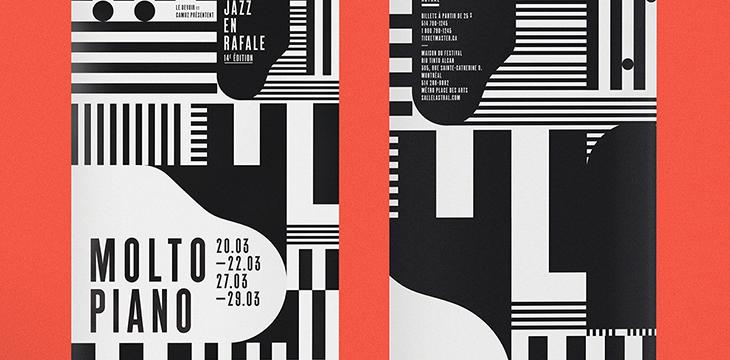 50 outstanding black  u0026 white poster designs