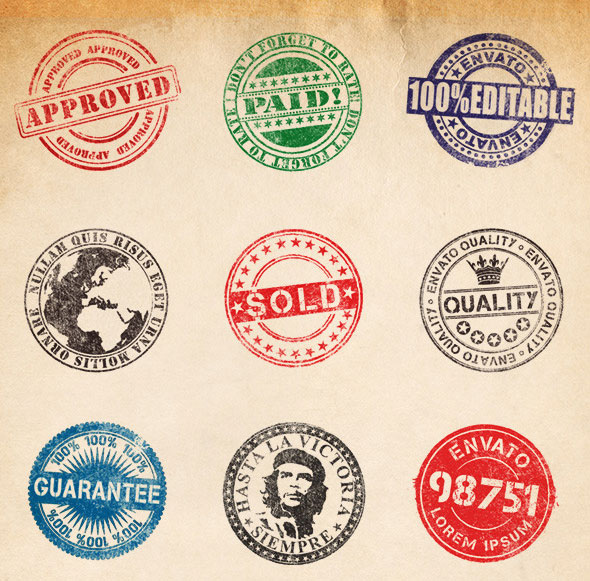 30 Eye-catching Rubber Stamp Designs – Bashooka