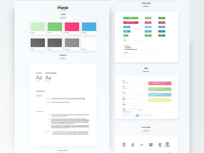 Style guide // ui kit in progress