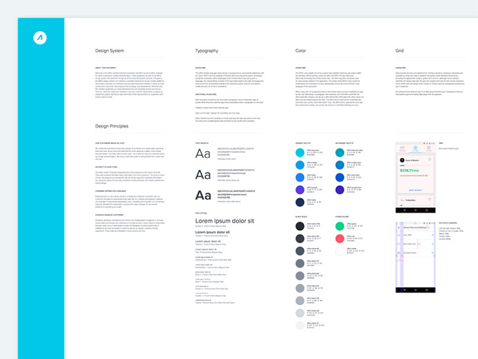 40 Great Examples Of Ui Style Guides Bashooka