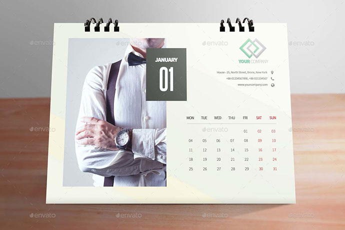 Calendar Design Photo : Creative calendar designs inspiration web