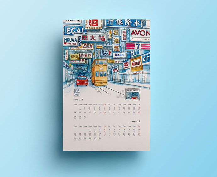 Calendar For Typography Nerds : Creative calendar designs inspiration web