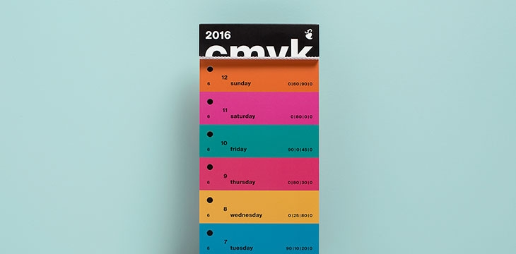 27 Creative Calendar Designs Inspiration 2017