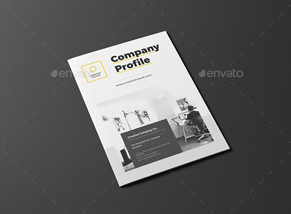 30 awesome company profile design templates web graphic design business profile fbccfo Choice Image