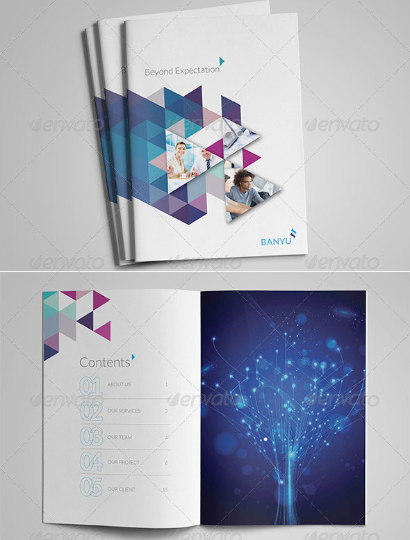 BANYU - Professional Corporate Brochure Templates