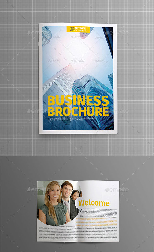 Business Plan - 26 Pages Business Brochure