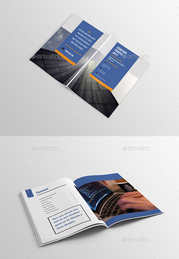 design cover company profile