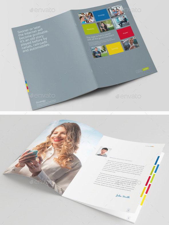 30 Awesome Company Profile Design Templates – Bashooka