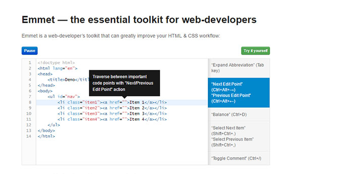 the essential toolkit for web-developers