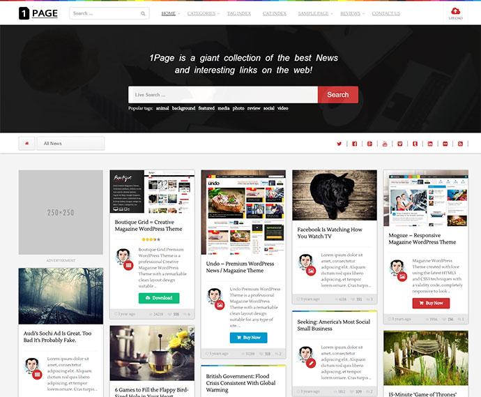 25 Best Infinite Scrolling WordPress Themes25 Best Infinite Scrolling WordPress Themes - Web & Graphic Design - Bashooka - 웹
