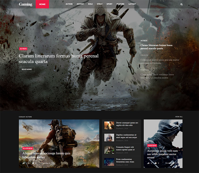 Coolist | Infinite Scroll Magazine WordPress Theme
