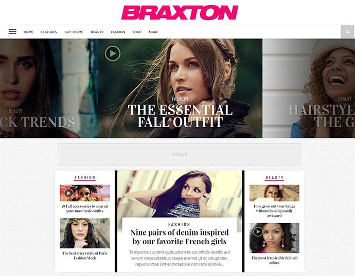 Braxton - Premium WordPress Magazine Theme