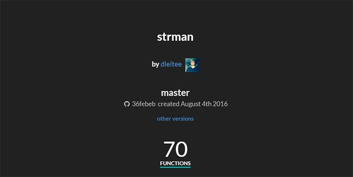 strman