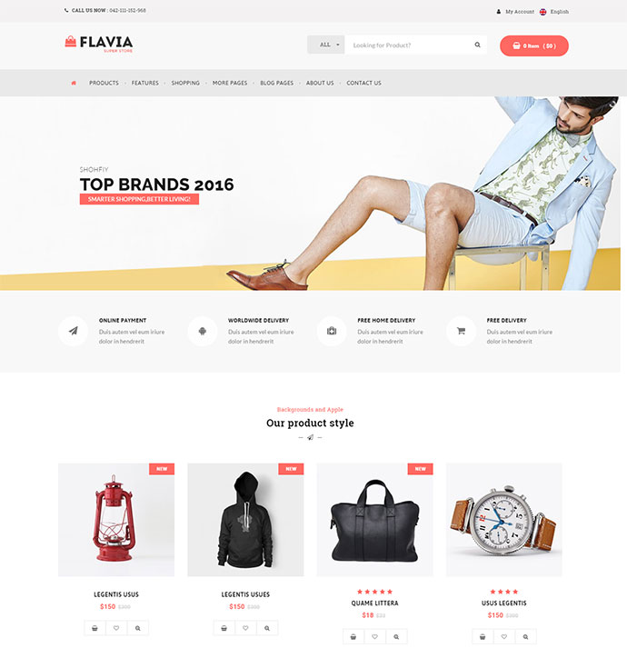 Download Responsive WooCommerce WordPress Theme