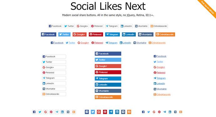 Social Likes Next