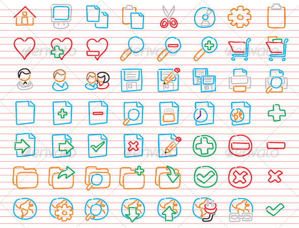 Freehand Icons