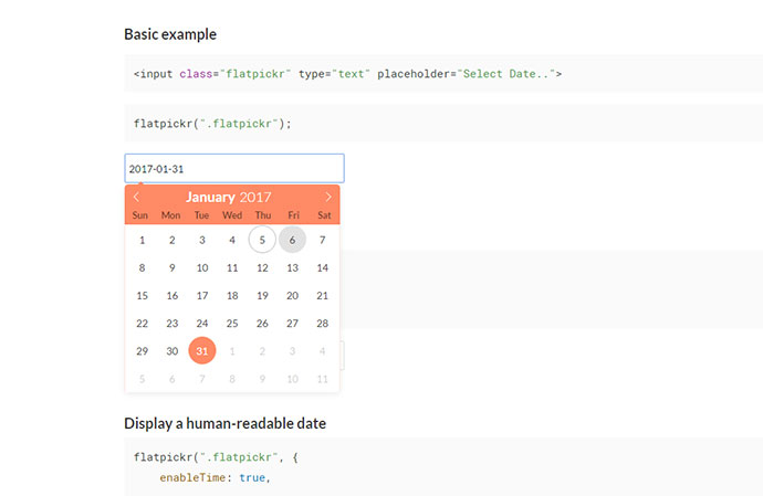 The last datetime picker you'll ever need.