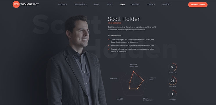 20 Examples Of Beautifully Made Team Pages