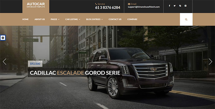 Car Dealer WordPress Theme - Auto Car