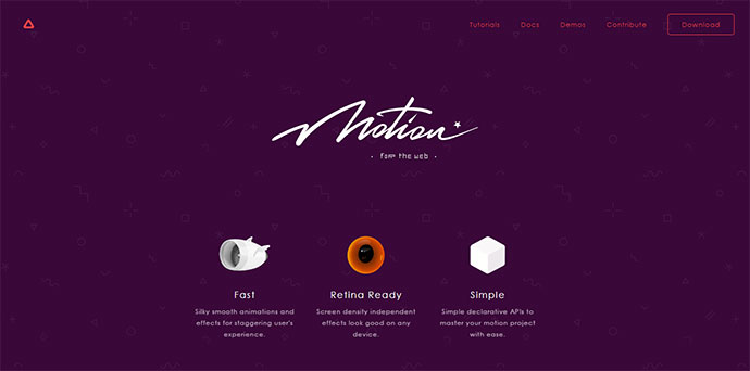 Motion Graphics For The Web