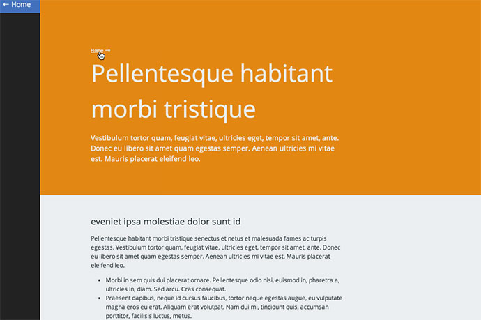 Unobtrusive page transitions with jQuery