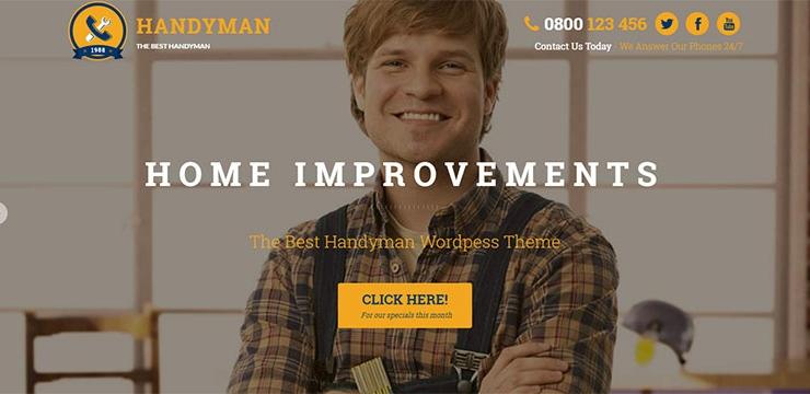 20 Best Home Improvement WordPress Themes