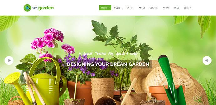 Responsive Gardening WP Theme