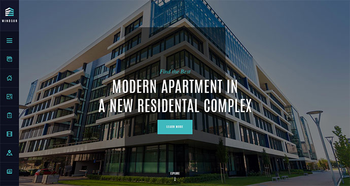 Apartment Complex / Single Property Theme