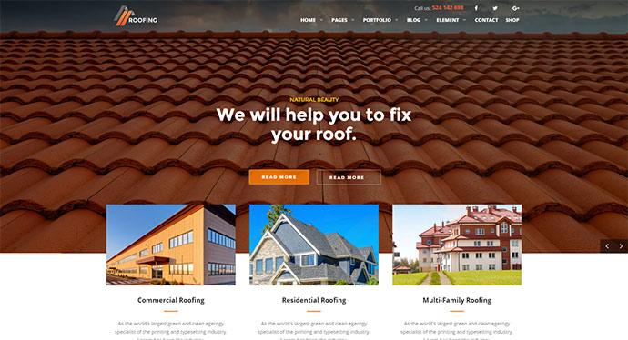 20 Best Home Improvement WordPress Themes Web Graphic Design Bashooka