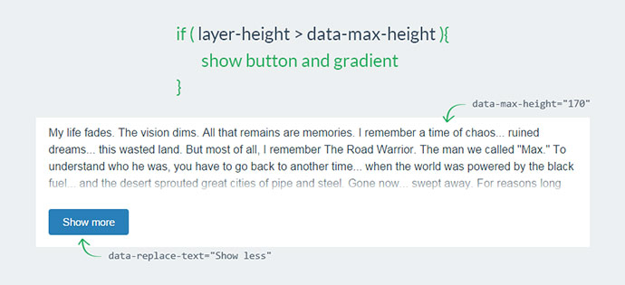 Dynamic max height plugin for jQuery