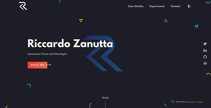 Riccardo Zanutta - Interactive Frontend Developer