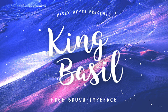 King Basil - Fuente Free Brush