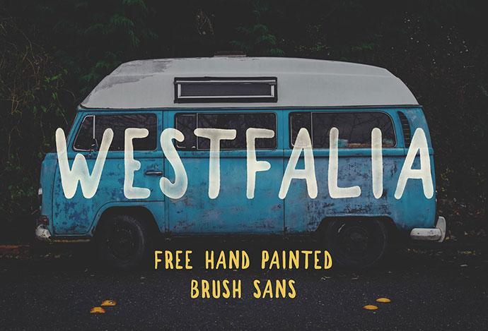 WESTFALIA - FREE FONT