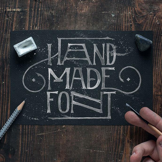 Fuentes caligráficas elegantes: ¡Todo letras!