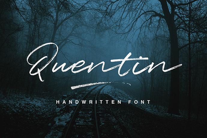 Quentin Script Free Typeface!