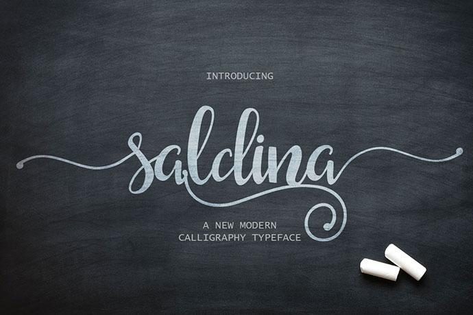 Saldina Typeface