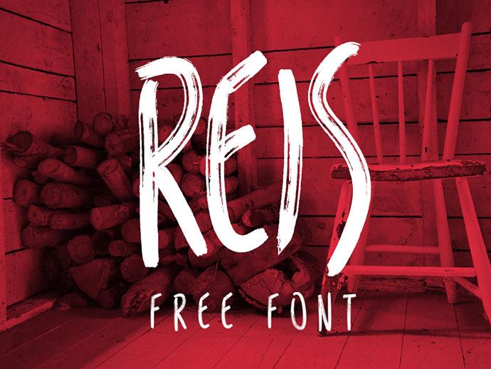 REIS FREE FONT BY MARCELO REIS MELO