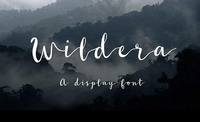 Wildera - Free Font