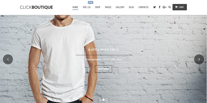 Click Boutique - Fashion Shop WordPress WooCommerce Theme