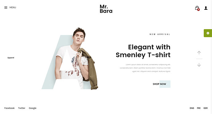 Mr.Bara Responsive Multi-Purpose eCommerce WordPress Theme