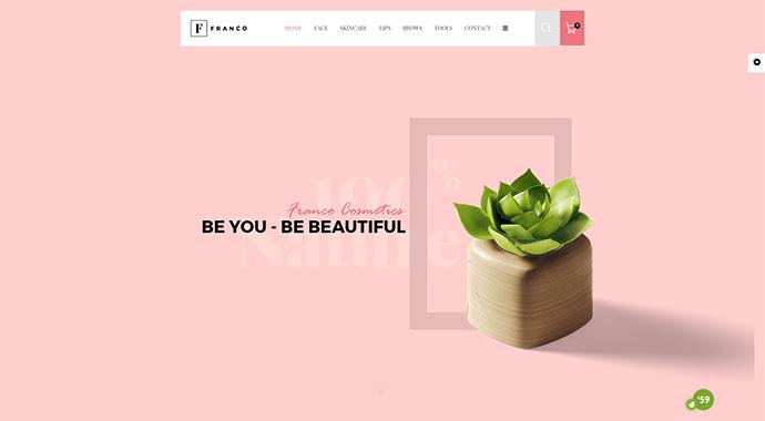 Franco - Elegant WooCommerce WordPress Theme
