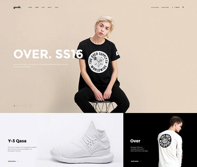 Goodz Shop - Multipurpose eCommerce Theme