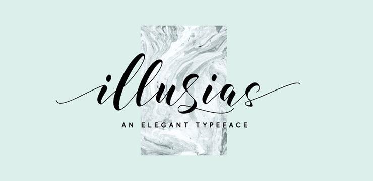 40 Elegant Calligraphy & Hand Lettering Fonts